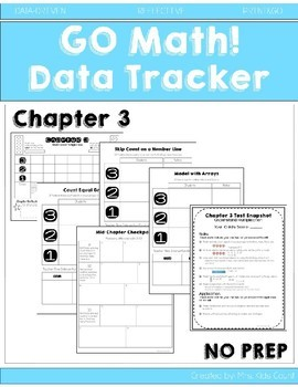 Go Math! Ch. 3 Data Tracker