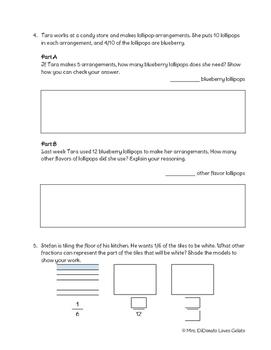 Go Math! Ch. 6 Test Review