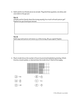 Go Math! Ch. 9 Test Review