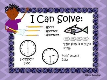 Go Math Ch Nine Focus Wall
