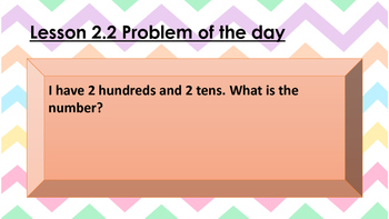 Go Math Ch2 GRADE 2 Assessments Problem of the day and Exit Slip