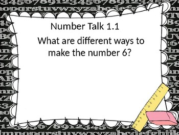 Go Math! Chapter 1 Addition Concepts PowerPoint - First Grade