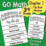 Go Math Chapter 1 Flip Book Reviews - 3rd Grade