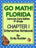 Go Math Chapter 1 Interactive Notebook {GRADE 1}