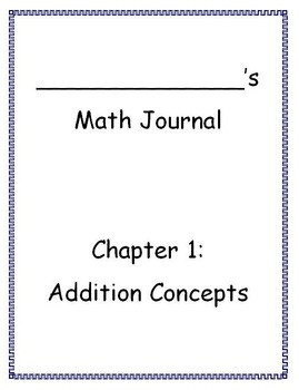 Go Math - Math Journal - Chapter 1