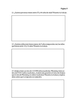 Go Math Chapter 1 Modified Exam- Spanish