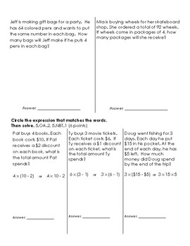 Go Math Chapter 1 Place Value, Multiplication, Numerical Expressions