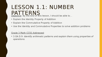 Go Math Chapter 1 PowerPoint