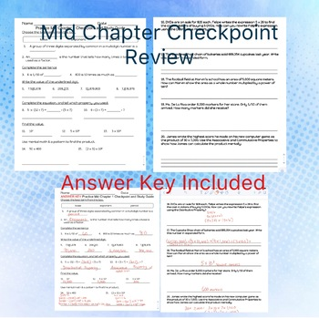 Go Math Chapter 1 Practice Mid Chapter Checkpoint