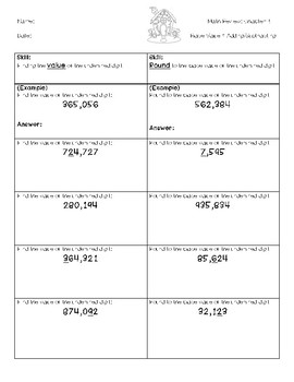 Go Math Chapter 1 Review Pages