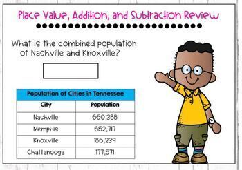 Go Math Chapter 1 Review: Place Value, Addition, & Subtraction to One Million