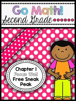 Go Math! Chapter 1 Second Grade Focus Wall Free Sneak Peak