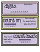 Go Math Chapter 1 Second Grade Vocabulary Cards