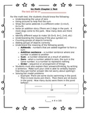 1st Grade Go Math Chapter 1 Study Sheet for Parents