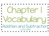 Go Math Chapter 1 Vocabulary 3rd Grade