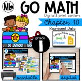 First Grade Math Centers, Represent Data, Chapter 10