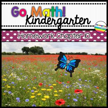 Go Math! Chapter 10 Kindergarten Homework