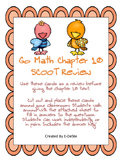 Go Math Chapter 10 Review SCOOT