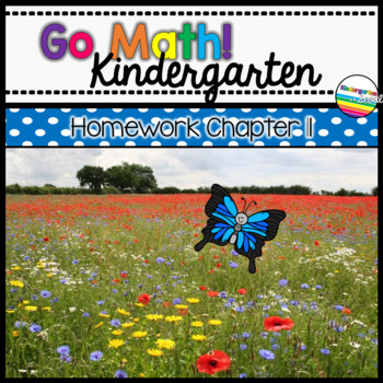 Go Math! Chapter 11 Kindergarten Homework