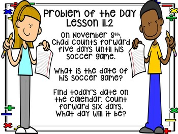 Go Math! Chapter 11 Problem of the Day and Math Journal Prompts