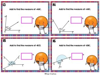 Go Math Chapter 11 Review Task Cards-4th Grade