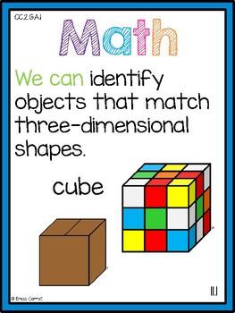 Go Math! Chapter 11 Second Grade Focus Wall