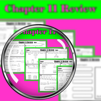 "Chapter 11 Review ""Go Math"""