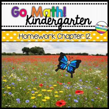 Go Math! Chapter 12 Kindergarten Homework