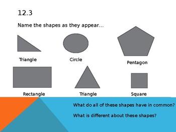 Go Math! Chapter 12 Numeracy Development - First Grade