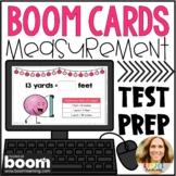 4th Grade Math Test Prep | Customary and Metric Measurement Digital Boom Cards