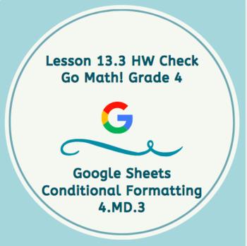 Go Math Chapter 13 Homework Google Sheets