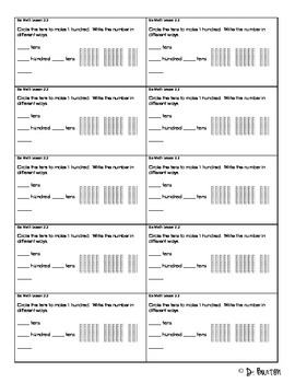 Go Math Chapter 2 Exit Slips - 2nd Grade by Classroom ...