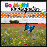 Go Math! Chapter 2 Kindergarten Homework