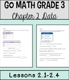 Go Math Chapter 2 Lessons 1-4 *Interpret & Analyze Data*