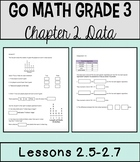 Go Math Chapter 2 Lessons 5-7 *Interpret & Analyze Data*