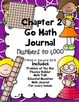 Go Math Chapter 2 Math Journal Second Grade