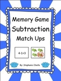 Go Math! Chapter 2 Memory Subtraction Match Ups
