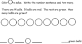 Go Math Chapter 2 (Subtraction Concepts) First Grade
