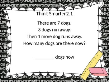 Go Math! Chapter 2 Subtraction Concepts PowerPoint - First Grade
