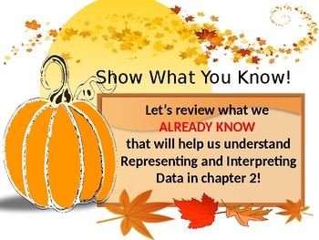 Go Math Chapter 2 introduction - represent and interpret data grade 3 PowerPoint