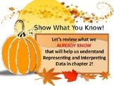 Go Math Chapter 2 introduction - represent and interpret d