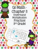 Go Math Chapter 3 - 3rd Grade - Understand Multiplication - Halloween