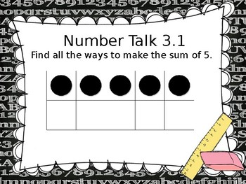 Go Math! Chapter 3 Addition Strategies PowerPoint - First Grade