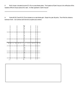 Go Math! Chapter 3 Extra Test 2 for Grade 6 for either Retake or Extra Practice!