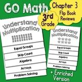 Go Math Chapter 3 Flip Book Reviews - 3rd Grade