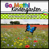 Go Math! Chapter 3 Kindergarten Homework
