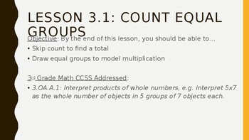 Go Math Chapter 3 PowerPoint