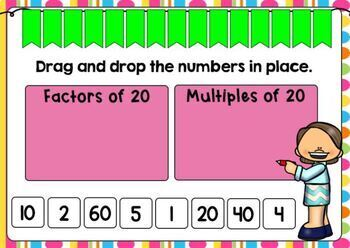 Go Math Chapter 5 Review: Factors, Multiples, and Patterns