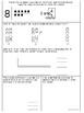 Math Chapter 3 Review Sheet (Kindergarten)