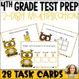 Go Math Chapter 3 Review Task Cards: Multiply 2-Digit Numbers FREEBIE